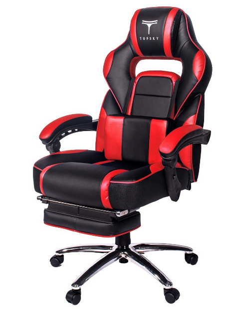 Topsky High Back Leather Computer Gaming Chair